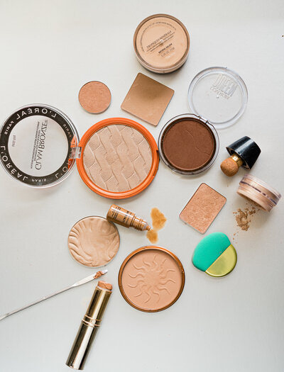 Copy of Bronzer Flat Lay Natalie Setareh 3