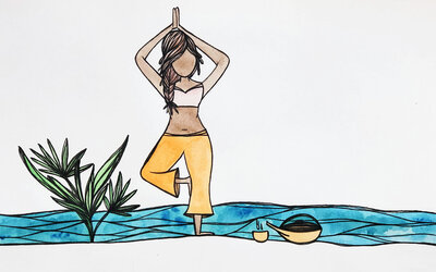 Salted-Spirit - Yoga Girl