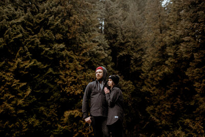 Lynn Canyon Park Engagement Session 1