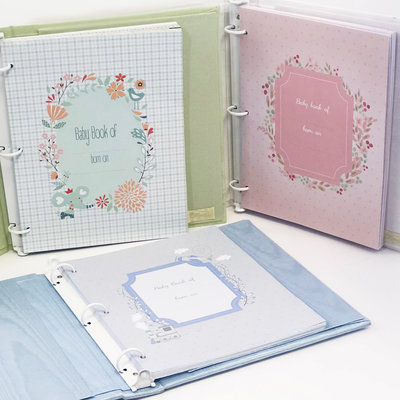 Baby Book Pages - Group
