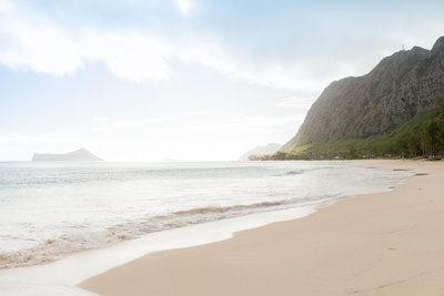 Oahu beach wedding venues - Waimanalo Beach Park
