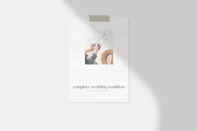 Wedding Workflow - Product Image