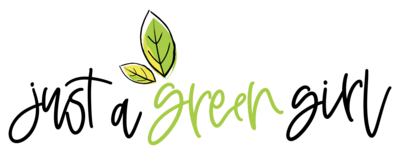 just a green girl logo