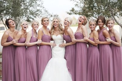 mauve-bridesmaids-dresses