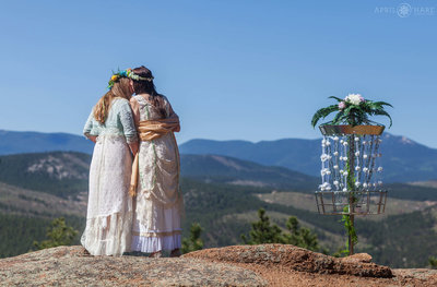Colorado-Mountain-Wedding-Venue-Bucksnort-Disc-Golf-Course