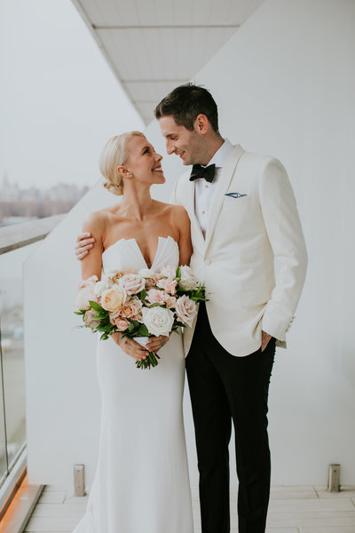 Modern luxe wedding in New York City.