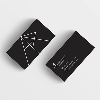 Logo-Design-Alissa-Business-Cards