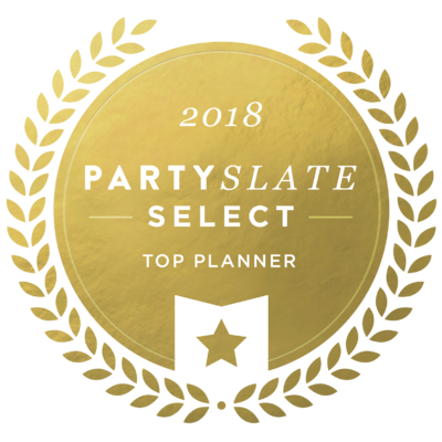 Party Slate 2018 Top Planner badge