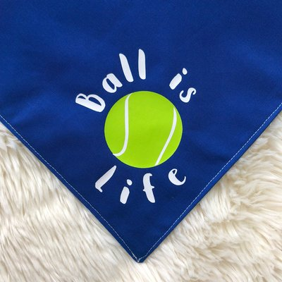 Ball is Life Bandana for Dogs from The Brunchin' Pup