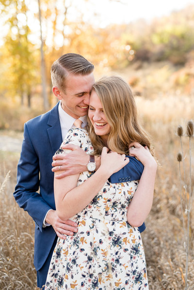 Layton Utah Fall Engagement Photography_007