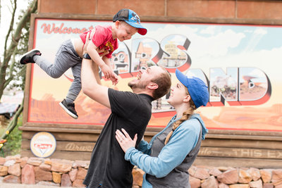 Jessie and Dallin at Disneyland