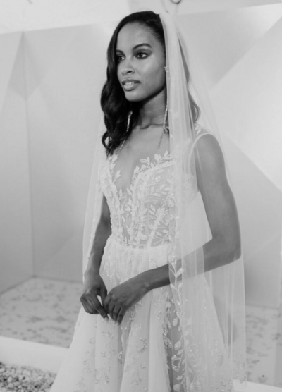 Sexy, detailed, floral wedding dresses by Israeli designers like Gala Galia Lahav and Berta are available discounted and off-the-rack at our bridal shop in Nashville and online for brides to shop.