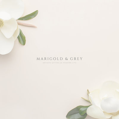 Branding for Creatives // Sarah Ann Design - Marigold & Grey
