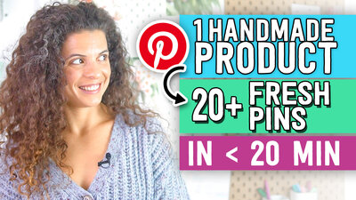 PINTEREST for HANDMADE shops -2020 Strategy