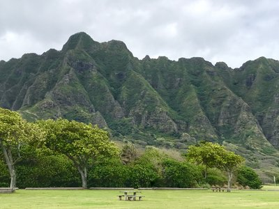 Oahu beach Wedding Locations - Kualoa Beach Park