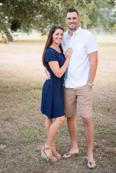 Couple portrait in Spring TX