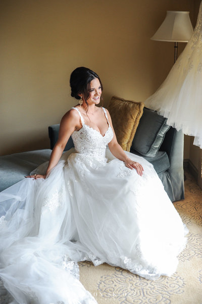 Stunning Bride that hired Southern Affairs Weddings and Events to plan and design her wedding