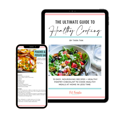 Ultimate Guide to Healthy Cooking - Fit Foodie Mommy