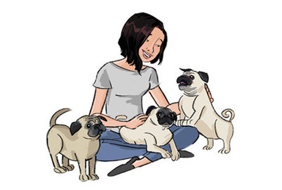 Mei Lin Barral Photography_Mei Lin + Pugs_by Andrea Poretta