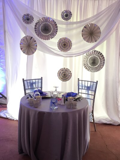 Backdrop with Paper Accents 2-K