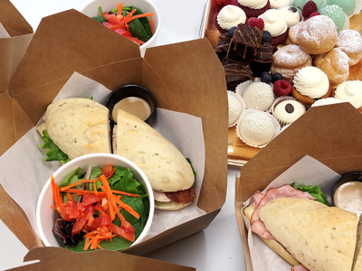 whippt Catering Office boxed lunch