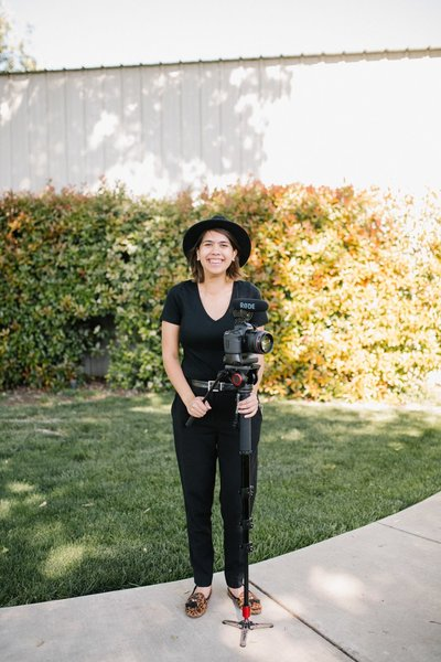 Karissa Wright is a wedding photographer and videographer based in California's central valley and Sacramento