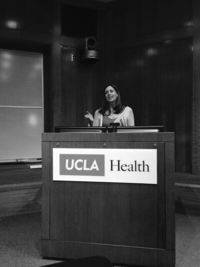 Diana UCLA teach photo