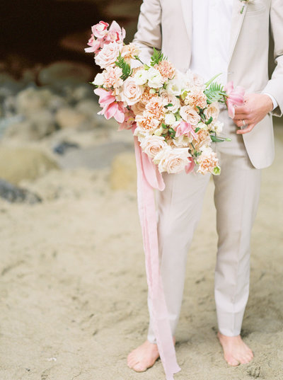 San Diego Sea Cave Elopement Highlights-22