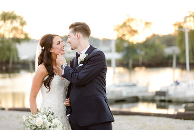 Clark's Landing Yacht Club Wedding | Philadelphia Wedding Photographer | Hope & Stay Photography