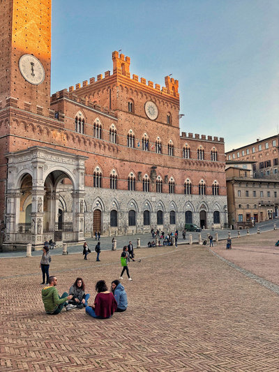 Siena sunset