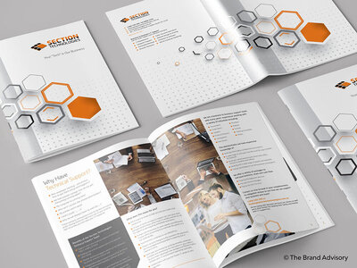 Section Technologies Brochure by The Brand Advisory