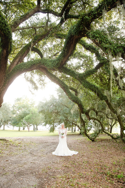 Bridal Session at Beauvoir in Biloxi