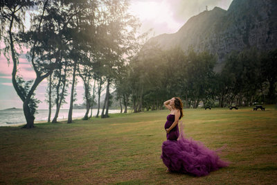 Hawaii Babymoon Pregnancy Photographer