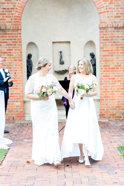 Same Sex Wedding The Dumbarton House DC Soleil and Katie Photography_0765