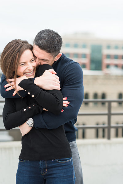 A Winter Downtown Boise Rooftop Engagement Shoot 012