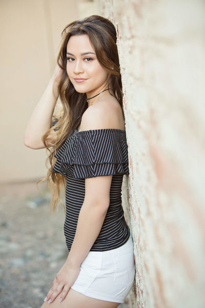 scottsdale senior girl photography