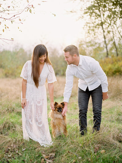 Vancouver Wedding Photographer Teryn Lee Photography Engagement Session Campbell Valley Park