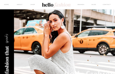 Blogger Influencer Showit Website Template