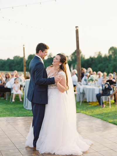 Gorgeous Backyard Wedding in Madisonville Kentucky by Sharin Shank Photography