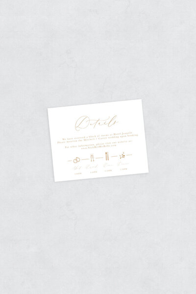 pirouettepaper.com | Wedding Stationery, Signage and Invitations | Pirouette Paper Company | Semi Custom Invitations | The Sienna 02