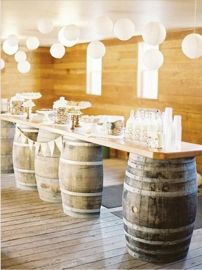 Wine Barrel Decor-1