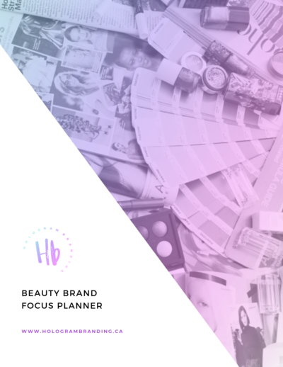 BEAUTY BRAND FOCUS PLANNER