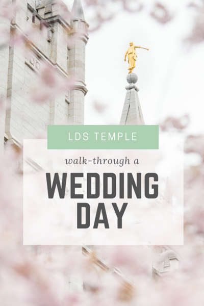 Cover image for article about LDS wedding day tips