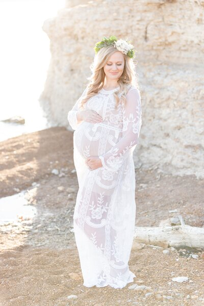 Benbrook Lake Maternity Photography