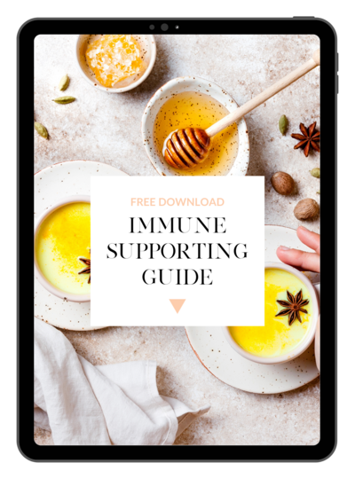 Grab your immune supporting guide by Kt Chaloner and use nutritional therapy to boost your immune system