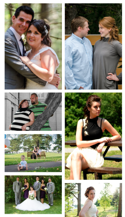 Amy & Jordan photography education student progress | Before & After Allison Parker