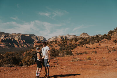 Arizona Elopement Photographers Beyond the Pines Photography