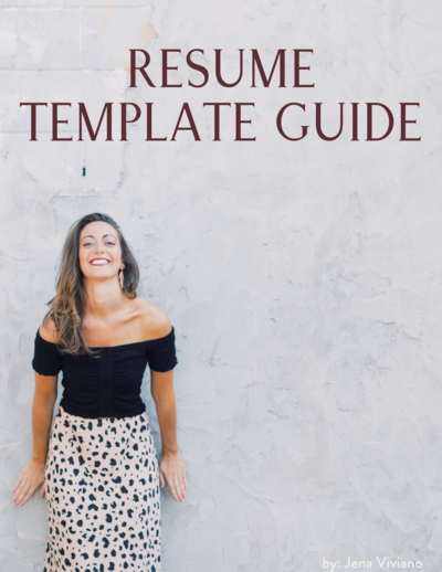 Resume Template Guide