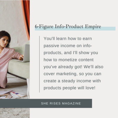 Build your 6-figure info-product empire