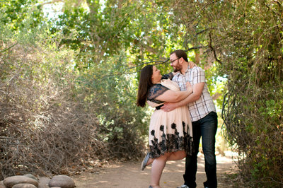 Phoenix Wedding Photographer for the fun sweethearts. Scottsdale Photographer for the adventurous romantic couple. Scottsdale Luxury Photographer. Romantic Photographer in Scottsdale.  Phoenix Botanical Garden engagement